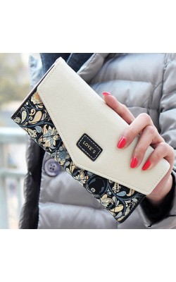 2016 Fashion Envelope PU Leather Women's Wallets Long Lady Purse Card Holder Leisure Mobile Bag Handbag Coin Purses Clutches