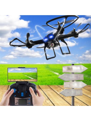 2016 RC Drone Phantom RC Helicopter drone with 200W Pixel 720P camera and Six-axis Gyroscope Colorful Lights For Photographer.