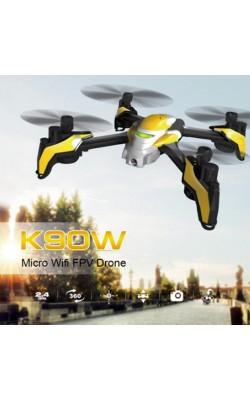 2017 K90W Wifi Mini Drone With Camera 0.3MP FPV Selfie Drone Professional RC Drone Quadcopter Helicopter Aircraft UFO Dron Toy