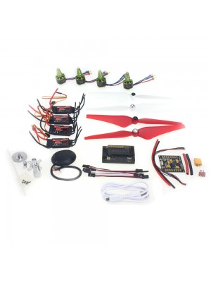 F11118-A GPS APM2.8 Flight Control EMAX 20A ESC GARTT 920KV 230W Brushless Motor  9443 Propeller  for 4-Axle DIY GPS Drone