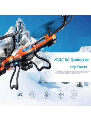 H12C Mini Phantom 2 Drone 2.4G 4CH Headless Mode RC Quadcopter with 2.0MP Camera Add Wifi HD Camera Version