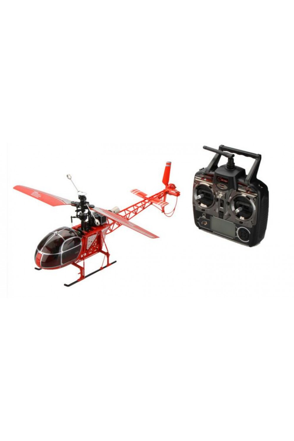 High Quality RC Helicopter drone  V915 4CH 2.4G 6 Axis Gyro 2 ModesSingle Propeller High Simulation Remote Control Helicopter