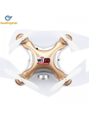 LeadingStar CX-10WD-TX Phone Cotrol Mini Wifi FPV RC Quadcopter 0.3MP Camera 4CH 2.4GHz Toys  racing drone