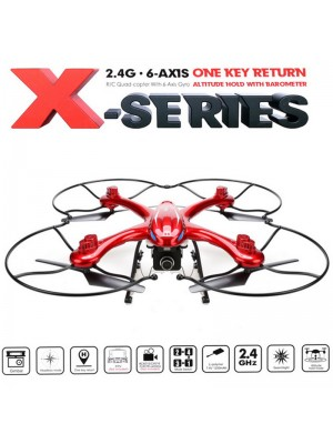 Original MJX X102H RC Quadcopter Drone with C4018 720P Aerial Camera 2.4GHz 4CH 6-Axis Gyro FPV With LED Night Lights