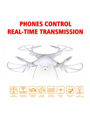 Professional RC Drone Fpv Quadcopter Helicopter with Camera HD Wifi Camera Remote Control By Phone Real-time Transmit  VS X5SW