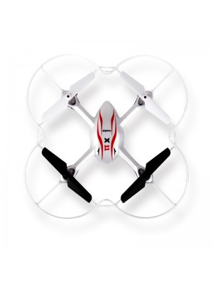 SYMA X11 mini RC Drone LED Light 4CH 2.4GHz 6-Axis Gyro Remote Control RC Helicopter Quadcopter toys-White
