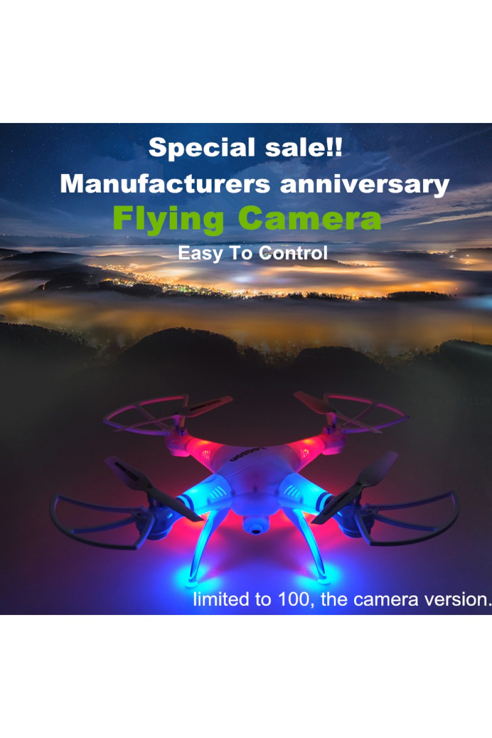 Special sale! Professional Dron Toys RC Helicopter Drone Quadcopter HD Camera RTF Remote Control  vs syma x5c jjrc h31